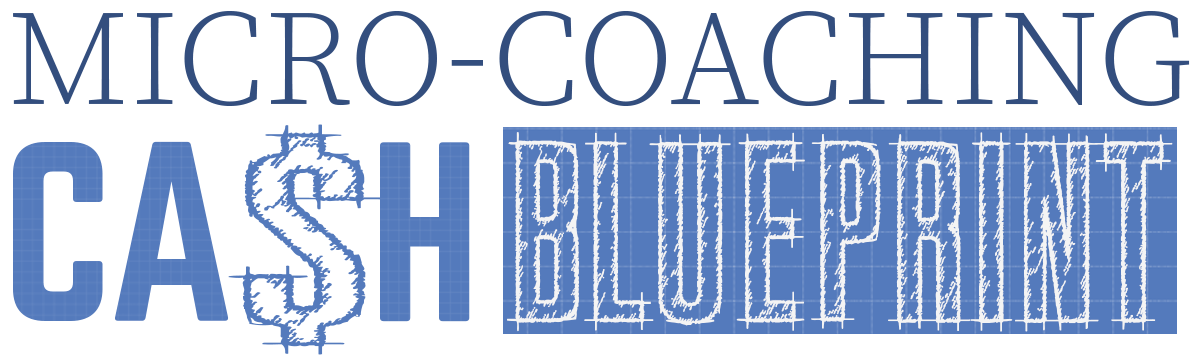 Micro coaching cash blueprint malvernweather Image collections